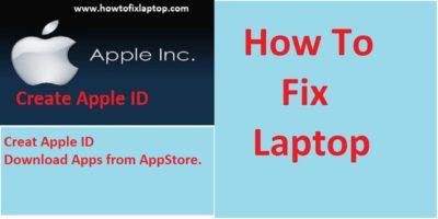 create apple ID in AppStore