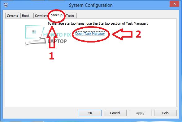 Microsoft System Configuration.