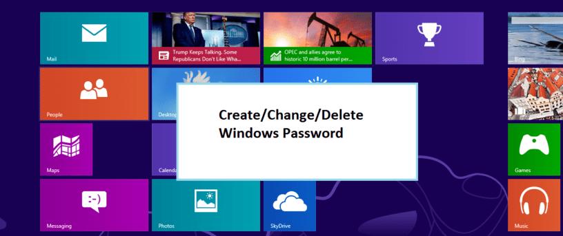 Windows-Password-create-change-delete