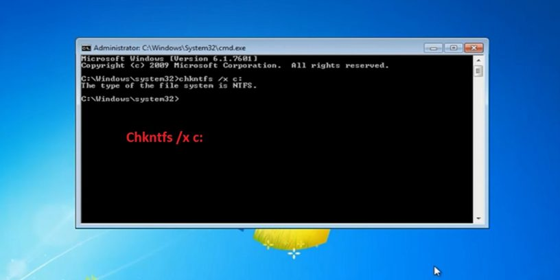 Disable chkdsk in Windows 7